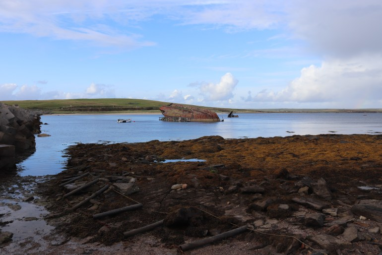 Block ships at Scapa Flow