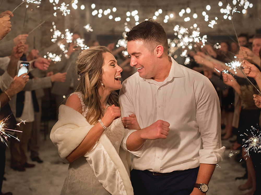 Bride-groom-sparkler-exit