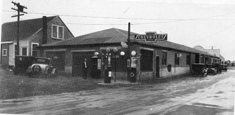Connolly's Garage, Hyannis, 1920s