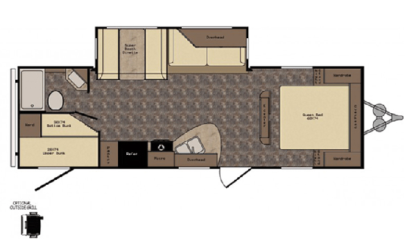 RV Floor Layout