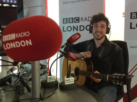 Performing 'One Thing' Live on BBC Radio London