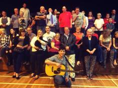 Nick Stephenson Music album preview - close up of audience