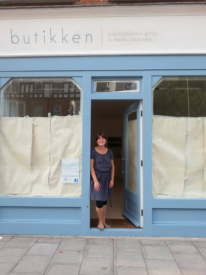 Butikken finished East Sheene NGS LONDON