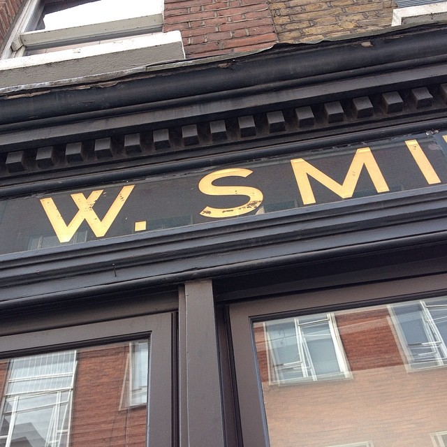 S Smith sign