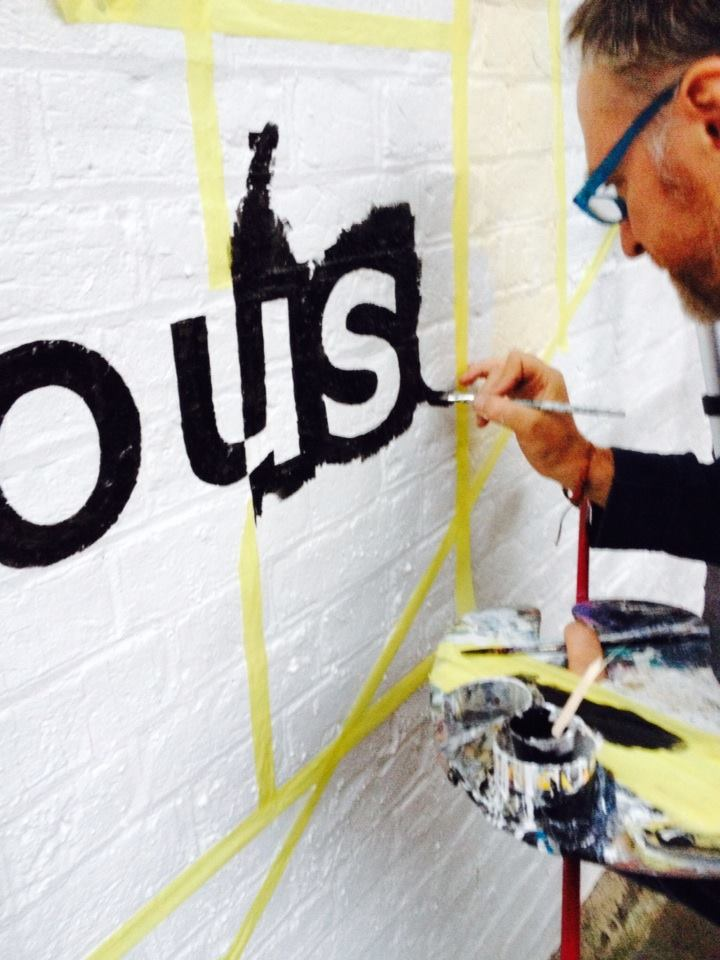 Freehand sign painters London NGS