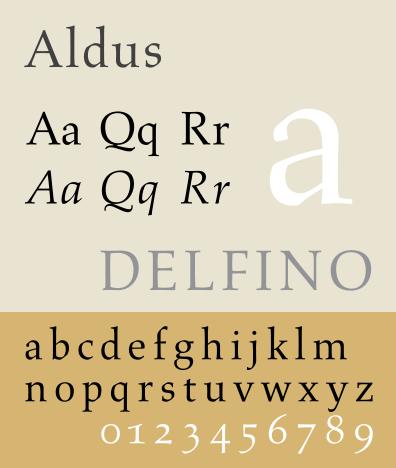 Aldus typeface