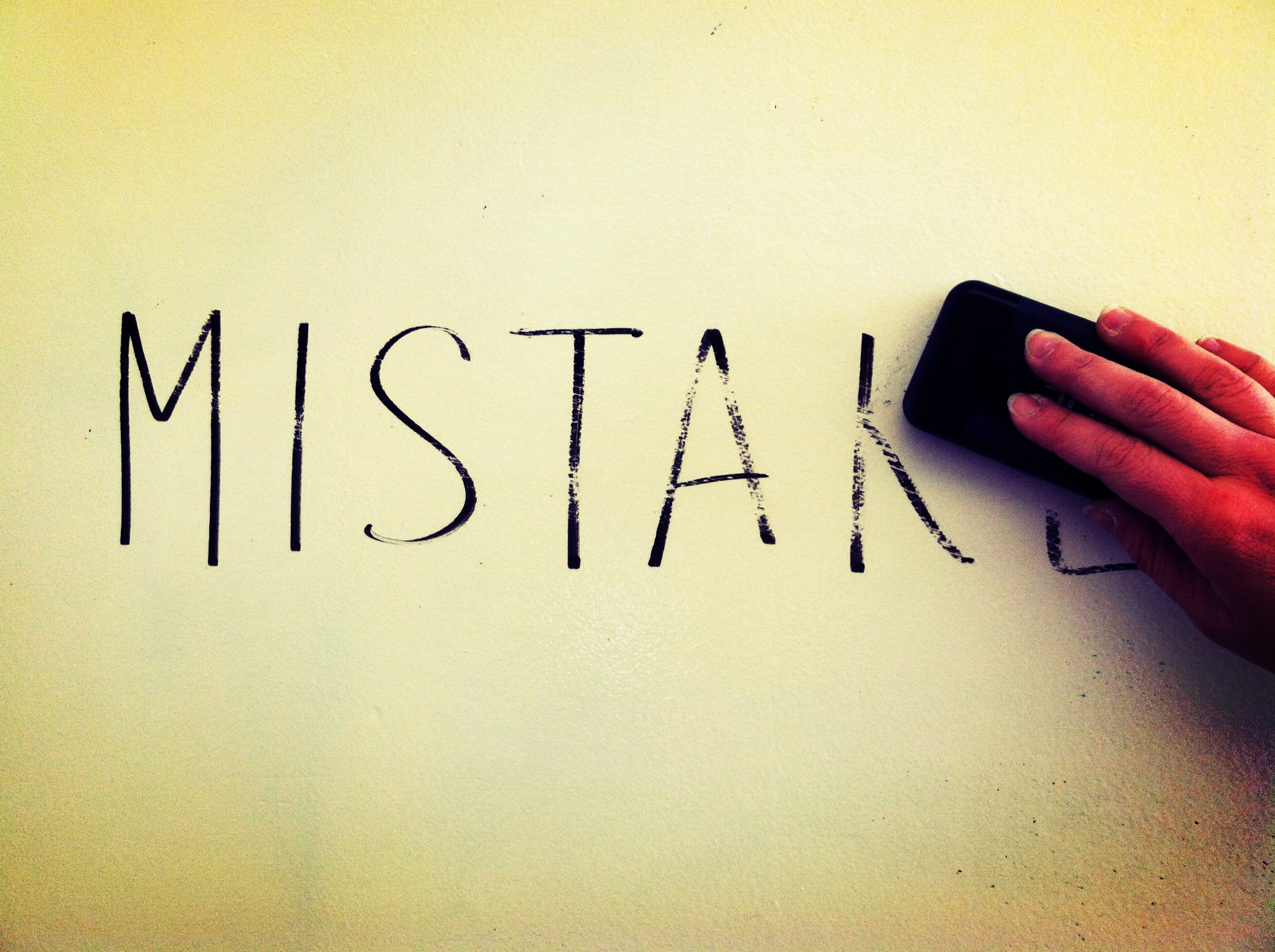 Be Yourself and Start Making Mistakes