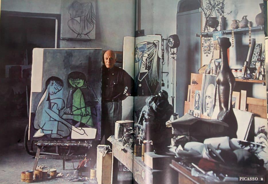 Alexander Liberman The Artist in His Studio