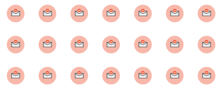 unsubscribers from your email marketing list