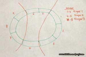 Finger diagram for minion