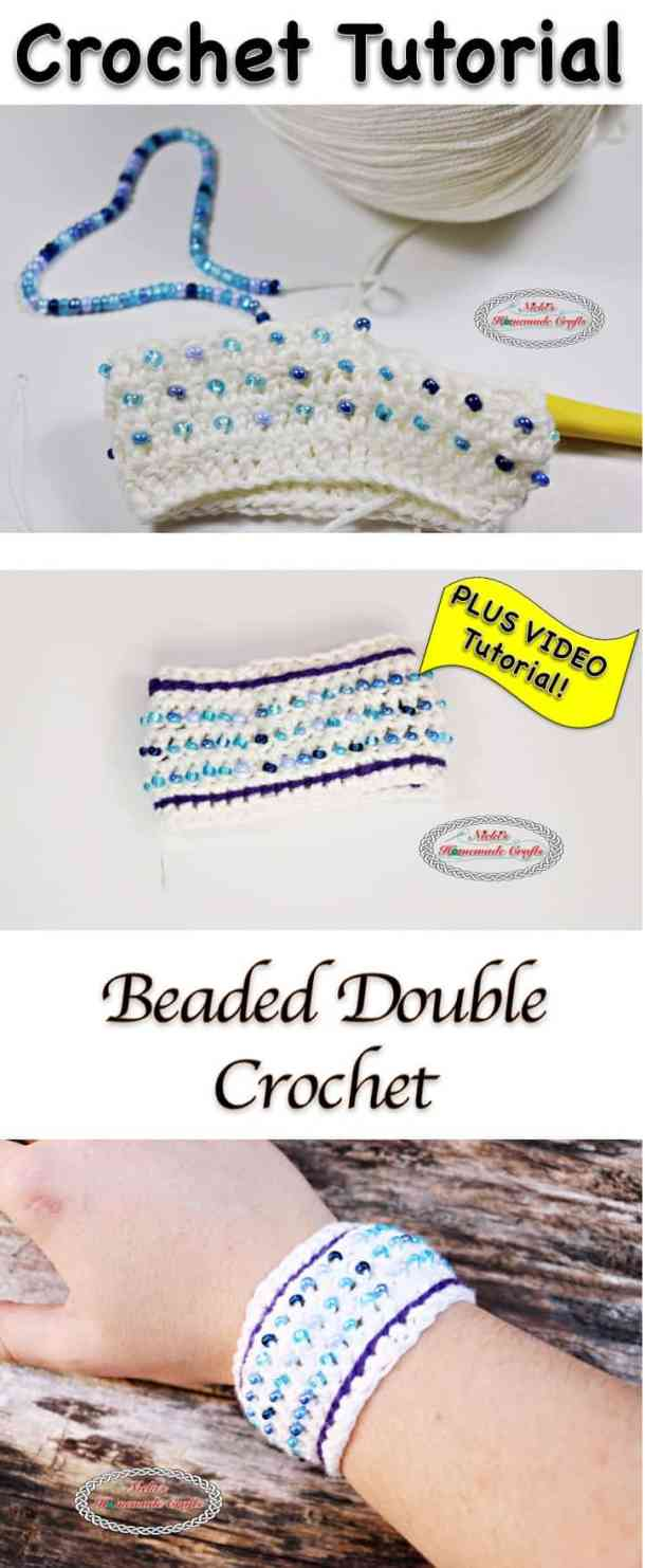 Beaded Double Crochet - Crochet Stitch Tutorial