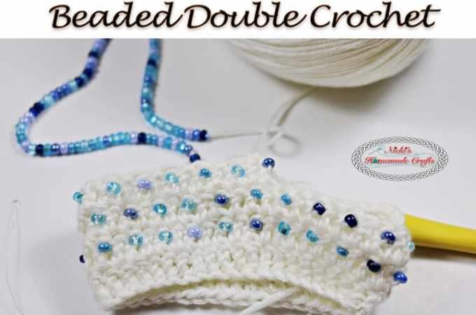 Tutorial: Beaded Double Crochet (BDC) – Crochet Stitch Tutorial