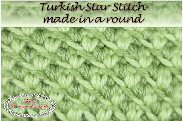 Tutorial: Turkish Star Stitch – Trending Crochet Stitch