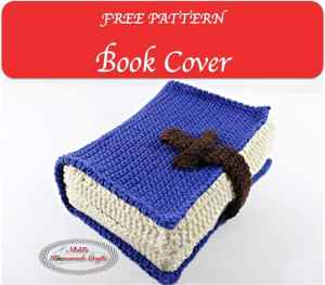 Book Cover – Free Crochet Pattern