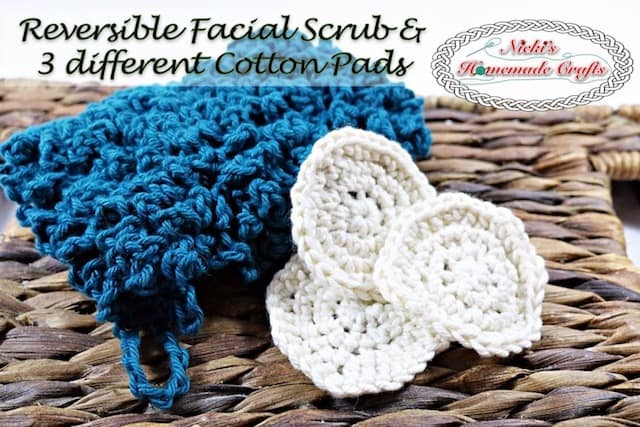 DIY Facial Scrub & Cotton Pads – Free Crochet Pattern