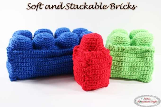 Soft and Stackable Bricks – Free Crochet Pattern