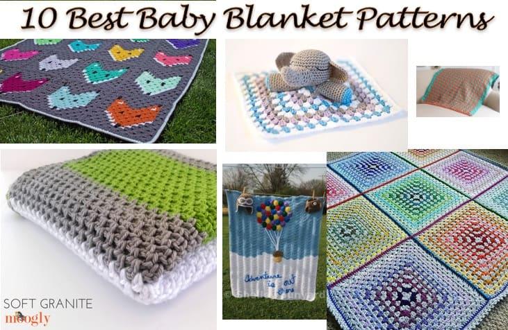 40 Best Baby Blanket Patterns All Free Crochet Patterns Nicki's Simple Elephant Baby Blanket Crochet Pattern