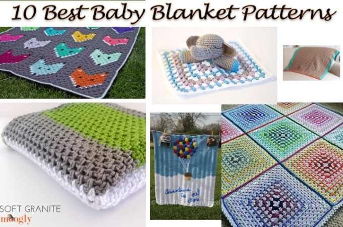 10 Best Baby Blanket Patterns – All Free Crochet Patterns