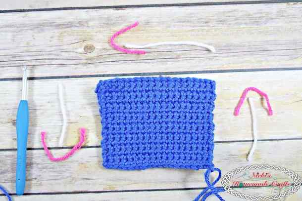 Crayon Tissue Box Cover - Free Crochet Pattern by Nicki's Homemade Crafts