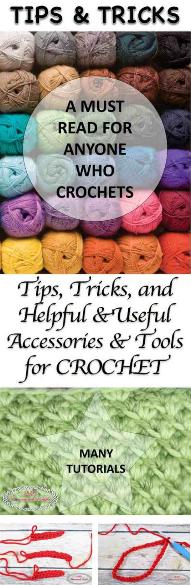 Tips Tricks And Helpful Useful Accessories Tools For Slip Knot Diagram Additionally Stitch Crochet Collection Made By