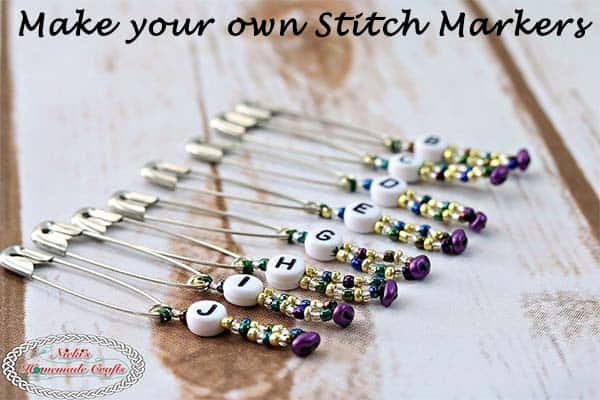 Make your own Stitch Markers - Crochet Tutorial DIY