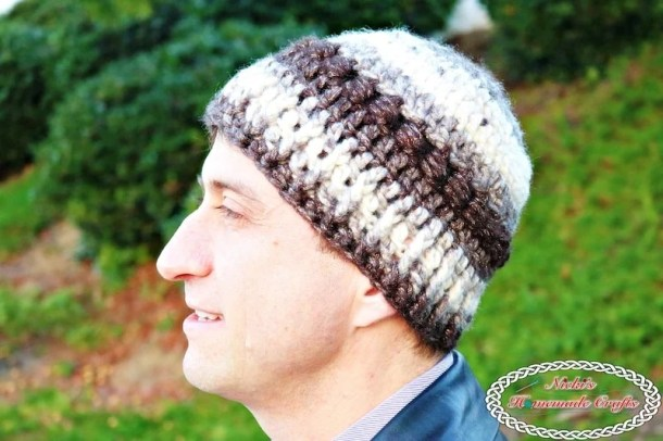 Everyday Bean Beanie - Free Crochet Pattern by Nicki's Homemade Crafts