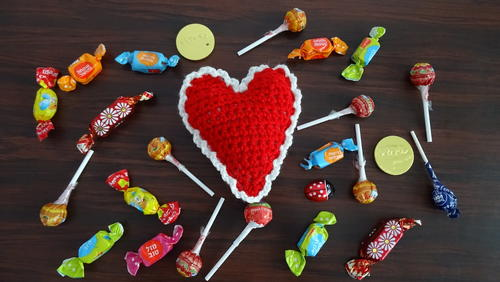 10 Best Free Valentine's Crochet Pattern on AllFreeCrochet by Nicki's Homemade Crafts #free #crochet #pattern 3collection #Valentine #day #hearts #gifts #presents #quick #easy #AllFreeCrochet