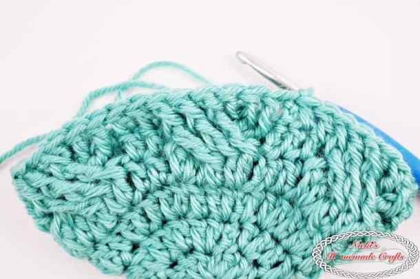How to crochet the perfect cable stitches every time flat and in a round by Nicki's Homemade Crafts #cable #stitch #tutorial #perfect #flat #round #every #time #howto