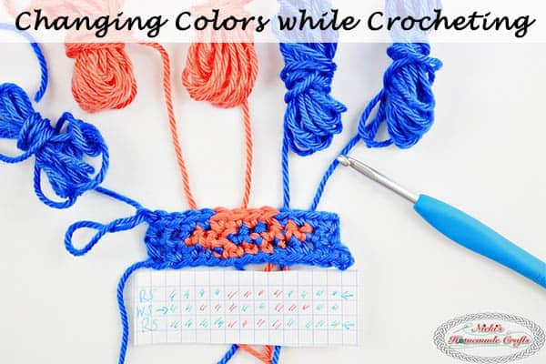 How to Change Colors while Crocheting – Photo and Video Tutorial
