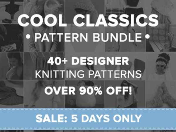 Cool Classics Knitting Pattern Bundle