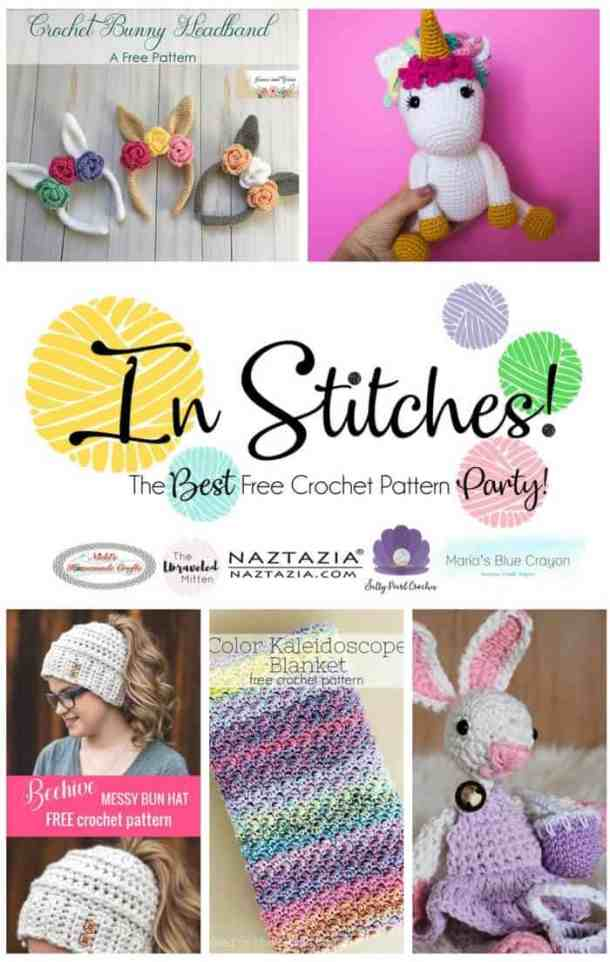 In Stitches - The Best Free Crochet Pattern Pattern with new free crochet patterns every 2 weeks. This week featuring hats, bunnies, and scarves and blankets