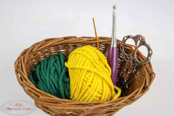 List of Materials for the Mystery Crochet Along