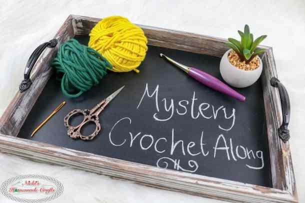 Mystery Crochet Along Material List Furls and DMC Yarns