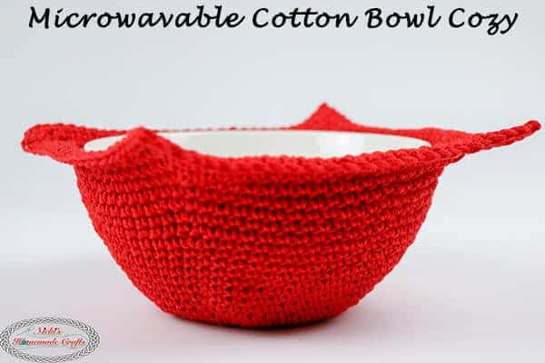 Microwavable Cotton Bowl Cozy – Free Crochet Pattern