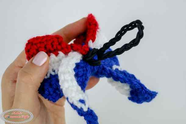 Crochet Bow pattern for hair