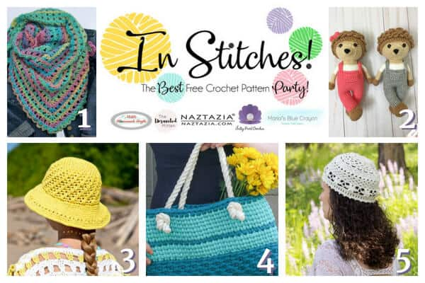 In Stitches - Best Free Crochet Pattern Party 13 Winners