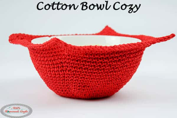 Easy And Awesome Cotton Bowl Cozy Free Crochet Pattern