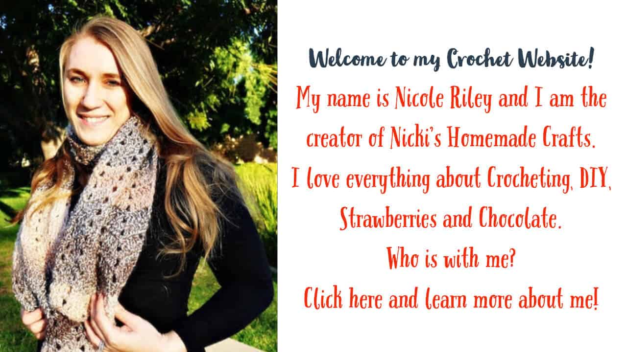 Nicole Riley - Free Crochet Designer of Handmade Crochet and DIY Patterns