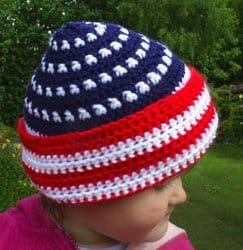 Patriotic Hat for 4th of July - American Flag