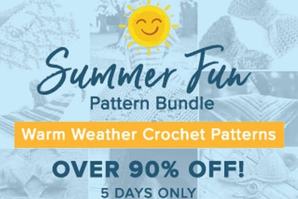 Summer Fun Crochet Pattern Super Bundle