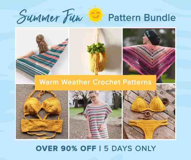 Summer Fun Crochet Pattern Super Bundle