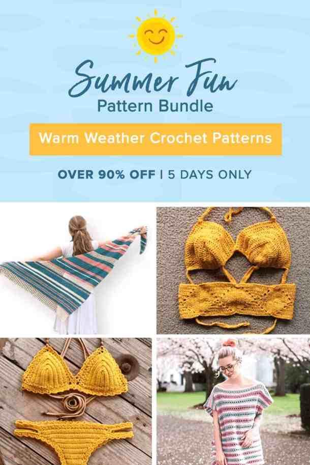 Summer Fun Crochet Pattern Super Bundle Nicki S Homemade Crafts