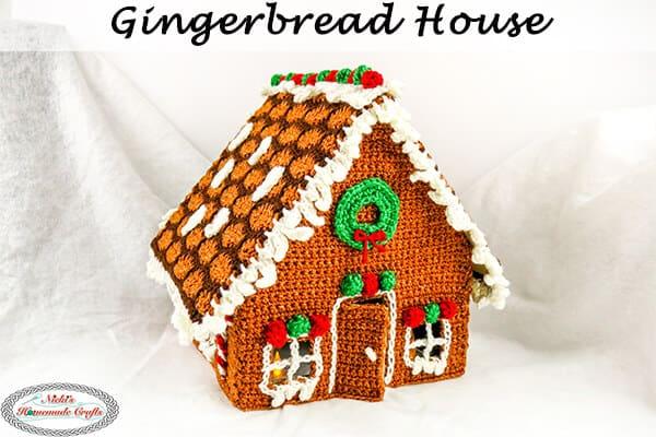 Gingerbread House Crochet Along Pattern