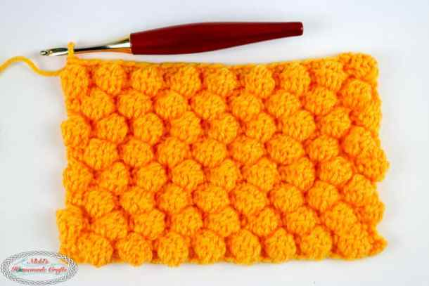Learn How To Crochet The Honeycomb Stitch Using This Photo Video