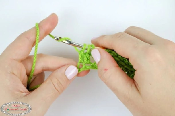 dc decrease crochet