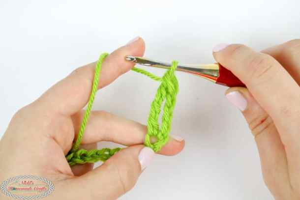 One Double Treble Crochet