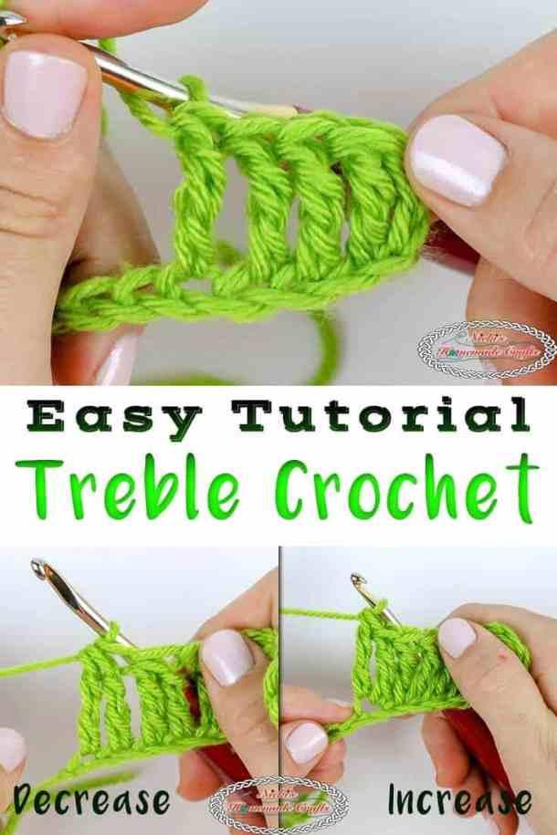 Learn the Treble Crochet Stitch