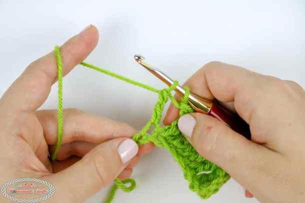 making a treble crochet decrease