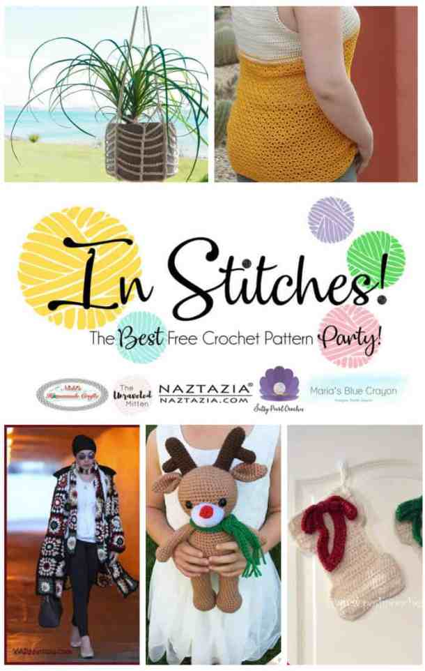 In Stitches - Best Free Crochet Pattern Party #15