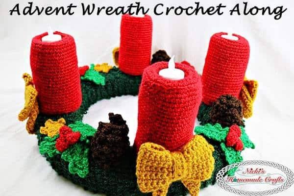 Advent Wreath Crochet Along Pattern